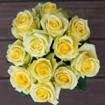 Yellow Flowers with free delivery